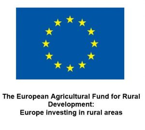 EU Logo with the following text: The European Agricultural Fund for Rural Development: Europe Investing in rural areas